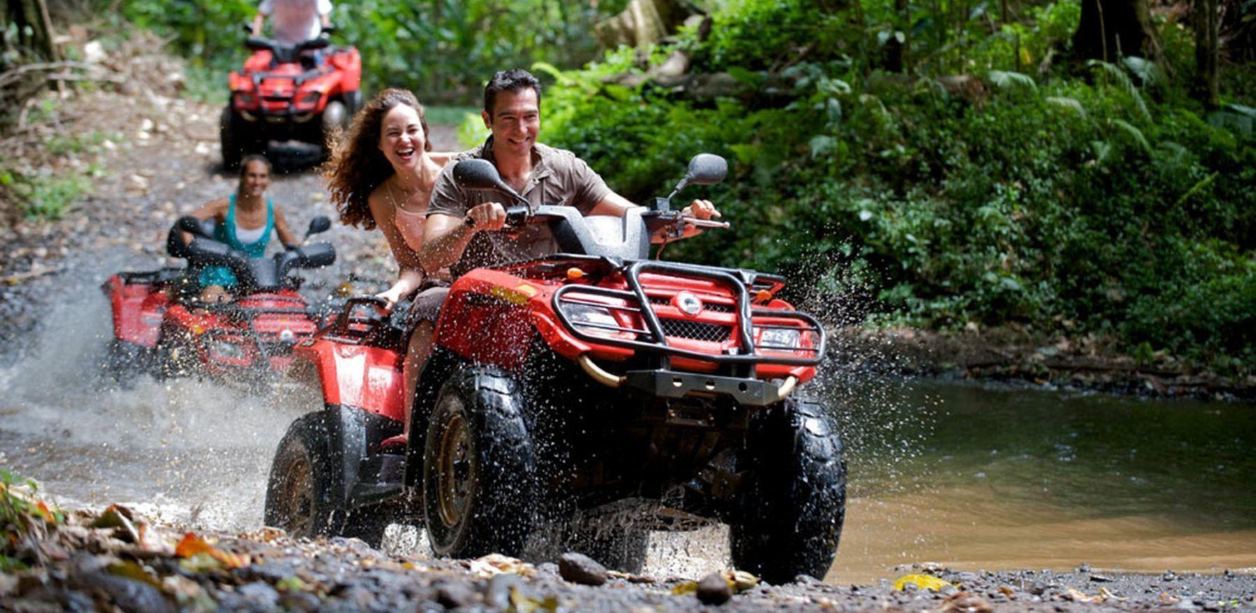 ATV excursion near Las Terrenas, Samana