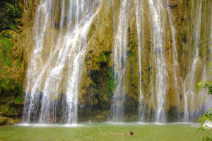 El Limon Waterfall tours in las terrenas dominican republic