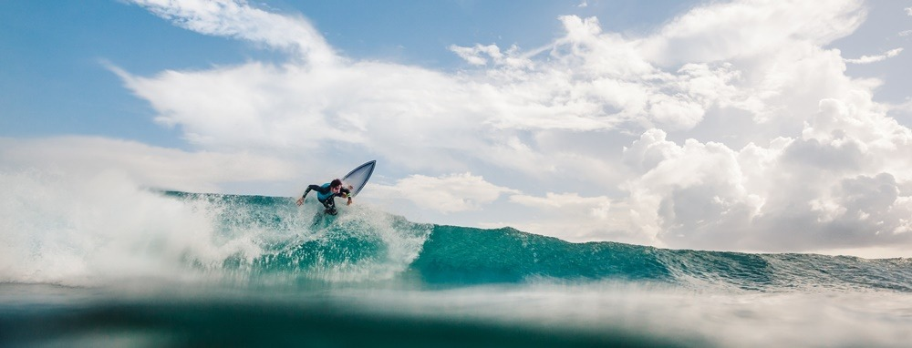 Surfing in Dominican Republic