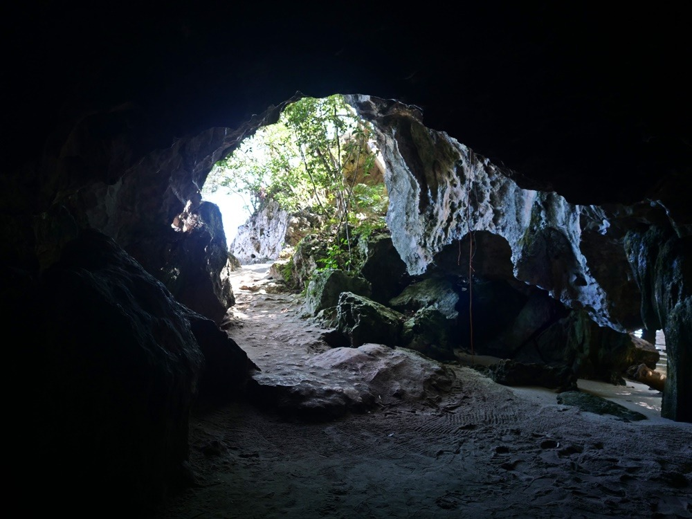 Cave in Los Haitises National Park