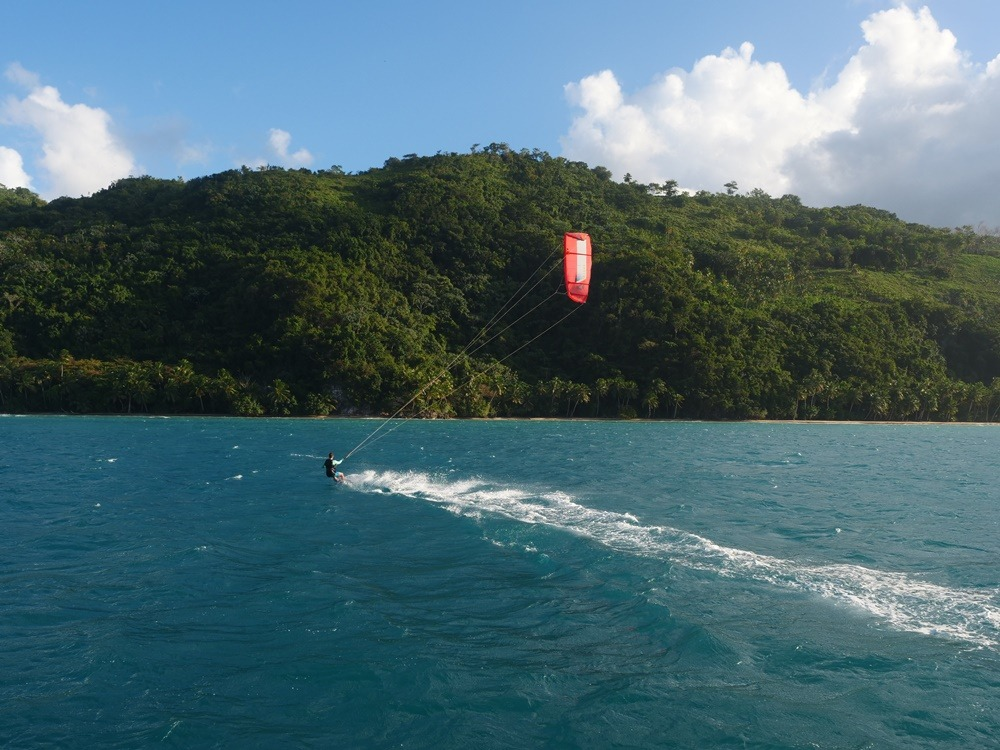 Kitesurfing cruise in the Dominican Republic