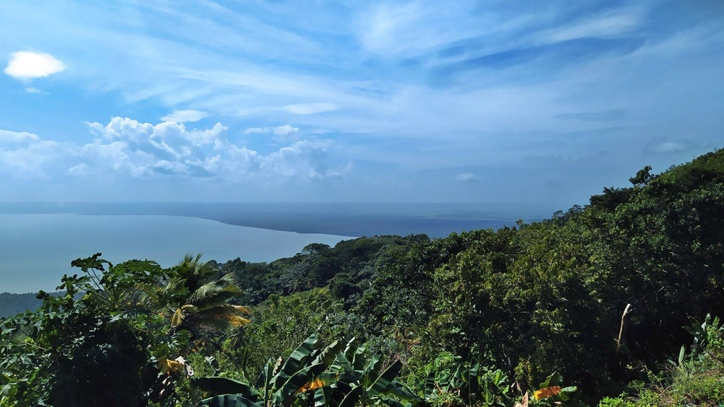 View over the Samana Bay