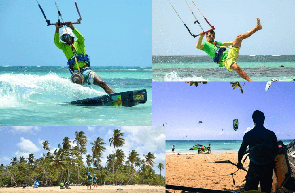 Kitesurfing lessons in the Dominican Republic pictures